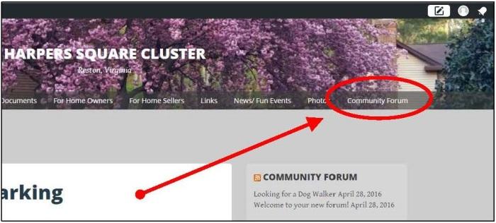 Community Forum Link